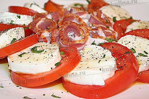 соус песто к салату капрезе рецепт